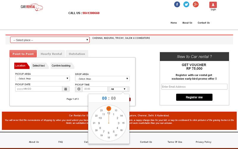 Car Rental System Open Source Website