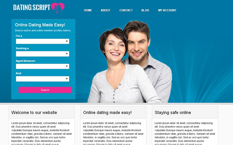 Einfache Dating-Website php