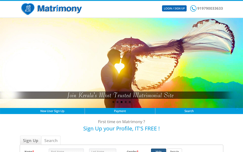 free php script for matrimonial website