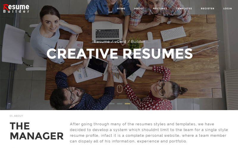 resume builder script wordpress resume builder themes