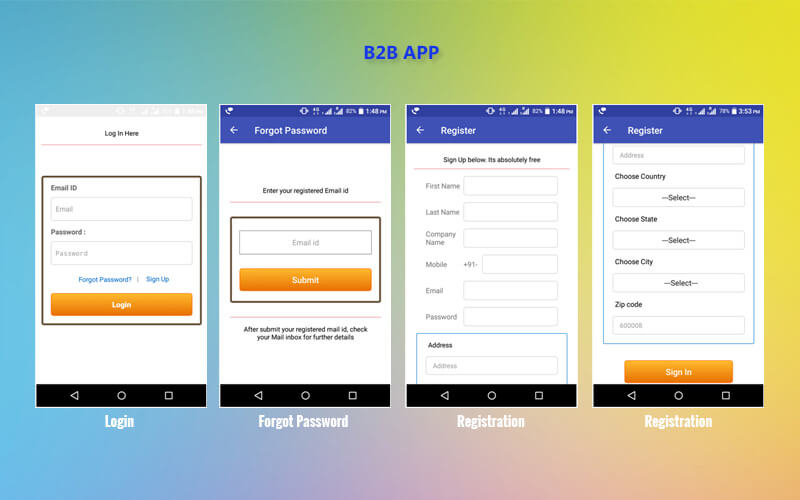 online trading application for android