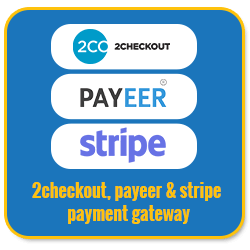 Basic Unilevel Investment MLM Software 2checkout payeer stripe payment gateway