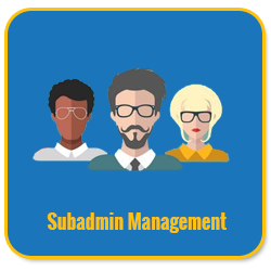 Basic Unilevel Investment MLM Software subadmin management 1
