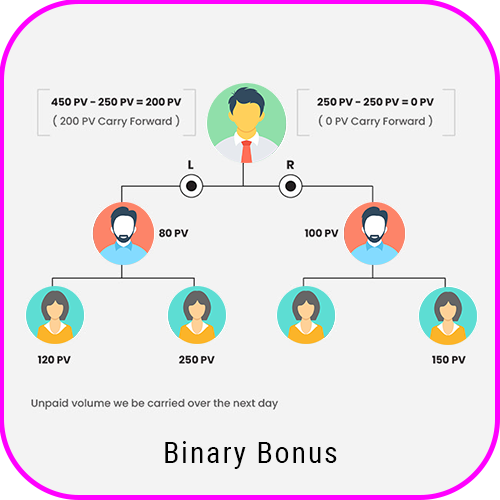 Spillover Binary Plan Software binary bonus
