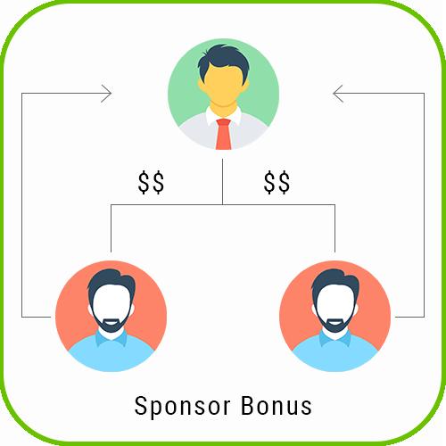 MLM Forced Matrix sponsor bonus